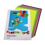 Zložky farebných papierov
